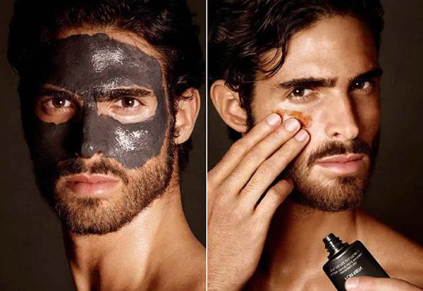 mooie huid mannen